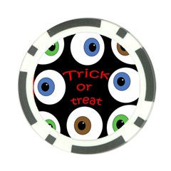 Trick or treat  Poker Chip Card Guards (10 pack)