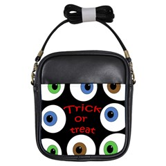 Trick or treat  Girls Sling Bags