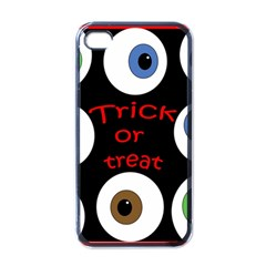 Trick or treat  Apple iPhone 4 Case (Black)