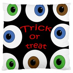 Trick or treat  Large Cushion Case (One Side)