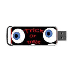 Trick or treat  Portable USB Flash (One Side)