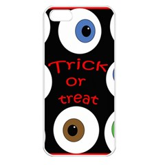 Trick or treat  Apple iPhone 5 Seamless Case (White)