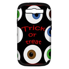 Trick or treat  Samsung Galaxy S III Hardshell Case (PC+Silicone)