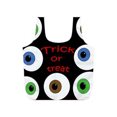 Trick or treat  Full Print Recycle Bags (S)