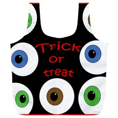Trick or treat  Full Print Recycle Bags (L)