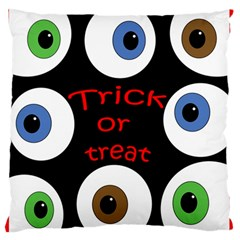 Trick or treat  Standard Flano Cushion Case (Two Sides)