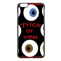 Trick or treat  Apple iPhone 6 Plus/6S Plus Black Enamel Case