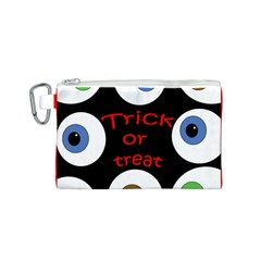 Trick or treat  Canvas Cosmetic Bag (S)