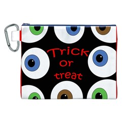 Trick or treat  Canvas Cosmetic Bag (XXL)