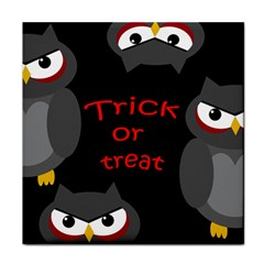 Trick or treat - owls Tile Coasters