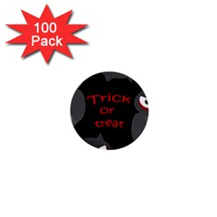 Trick or treat - owls 1  Mini Buttons (100 pack)