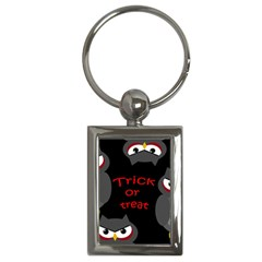 Trick or treat - owls Key Chains (Rectangle)