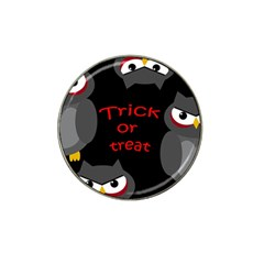 Trick or treat - owls Hat Clip Ball Marker (4 pack)
