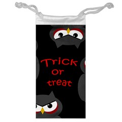 Trick or treat - owls Jewelry Bags