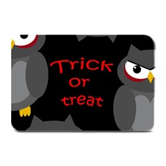 Trick or treat - owls Plate Mats