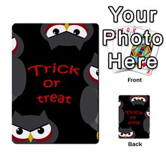 Trick or treat - owls Multi-purpose Cards (Rectangle)