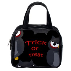 Trick or treat - owls Classic Handbags (One Side)