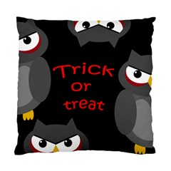 Trick or treat - owls Standard Cushion Case (One Side)