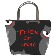 Trick or treat - owls Bucket Bags