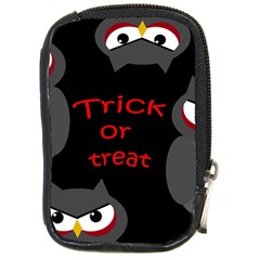 Trick or treat - owls Compact Camera Cases