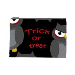 Trick or treat - owls Cosmetic Bag (Large)