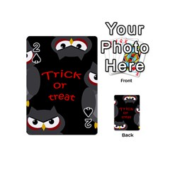 Trick or treat - owls Playing Cards 54 (Mini)
