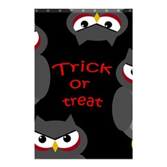 Trick or treat - owls Shower Curtain 48  x 72  (Small)