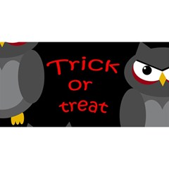 Trick or treat - owls YOU ARE INVITED 3D Greeting Card (8x4)