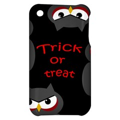 Trick or treat - owls Apple iPhone 3G/3GS Hardshell Case