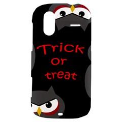 Trick or treat - owls HTC Amaze 4G Hardshell Case