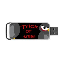 Trick or treat - owls Portable USB Flash (One Side)