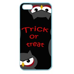 Trick or treat - owls Apple Seamless iPhone 5 Case (Color)