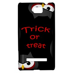 Trick or treat - owls HTC 8S Hardshell Case