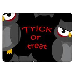 Trick or treat - owls Samsung Galaxy Tab 8.9  P7300 Flip Case