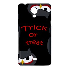 Trick or treat - owls Sony Xperia T