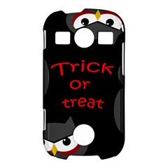 Trick or treat - owls Samsung Galaxy S7710 Xcover 2 Hardshell Case