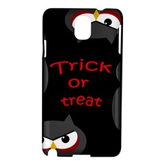 Trick or treat - owls Samsung Galaxy Note 3 N9005 Hardshell Case