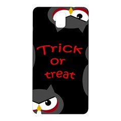 Trick or treat - owls Samsung Galaxy Note 3 N9005 Hardshell Back Case