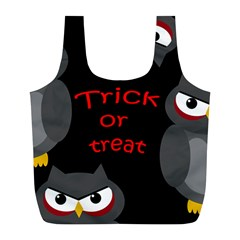 Trick or treat - owls Full Print Recycle Bags (L)