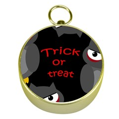 Trick or treat - owls Gold Compasses