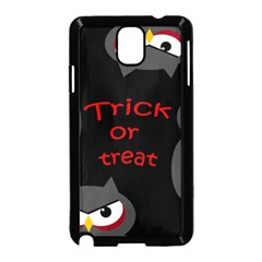 Trick or treat - owls Samsung Galaxy Note 3 Neo Hardshell Case (Black)