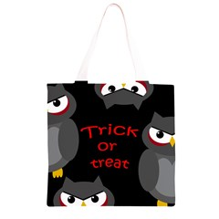 Trick or treat - owls Grocery Light Tote Bag