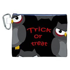Trick or treat - owls Canvas Cosmetic Bag (XXL)
