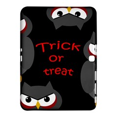 Trick or treat - owls Samsung Galaxy Tab 4 (10.1 ) Hardshell Case