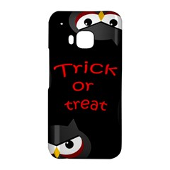 Trick or treat - owls HTC One M9 Hardshell Case