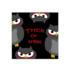 Trick or treat - owls Satin Bandana Scarf