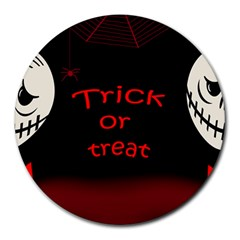 Trick or treat 2 Round Mousepads