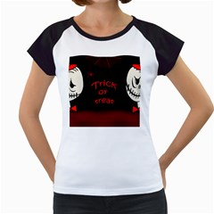 Trick or treat 2 Women s Cap Sleeve T