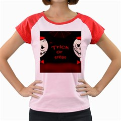 Trick or treat 2 Women s Cap Sleeve T-Shirt