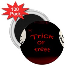Trick or treat 2 2.25  Magnets (100 pack)